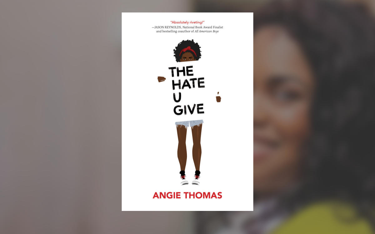 The Hate You Give, by Angie Thomas Image: Amazon