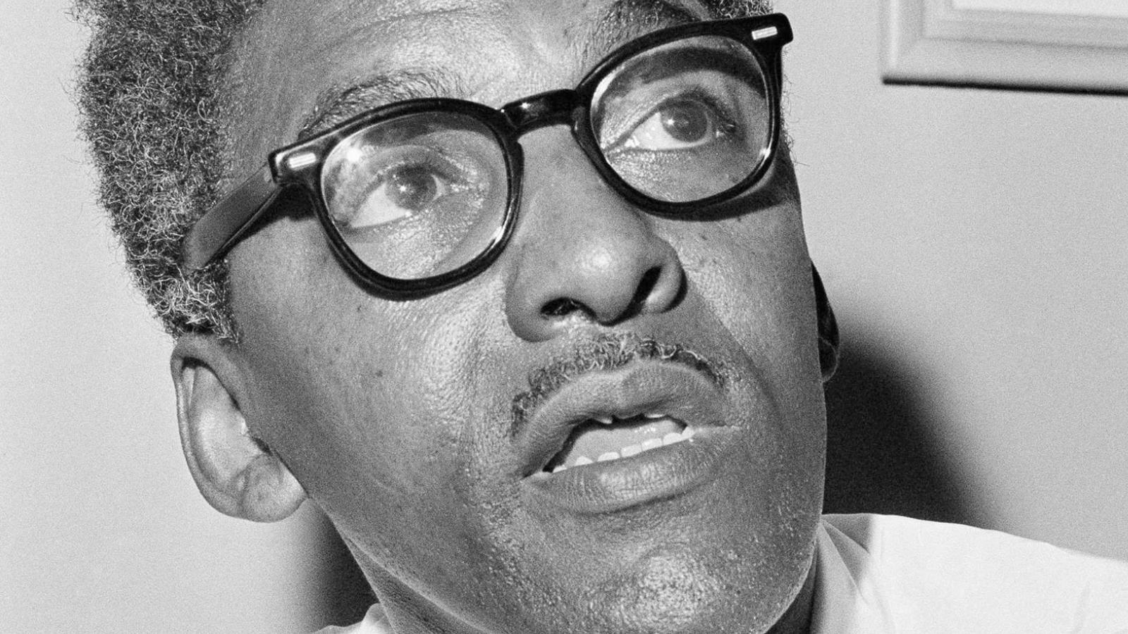 Bayard Rustin Image: Getty Images