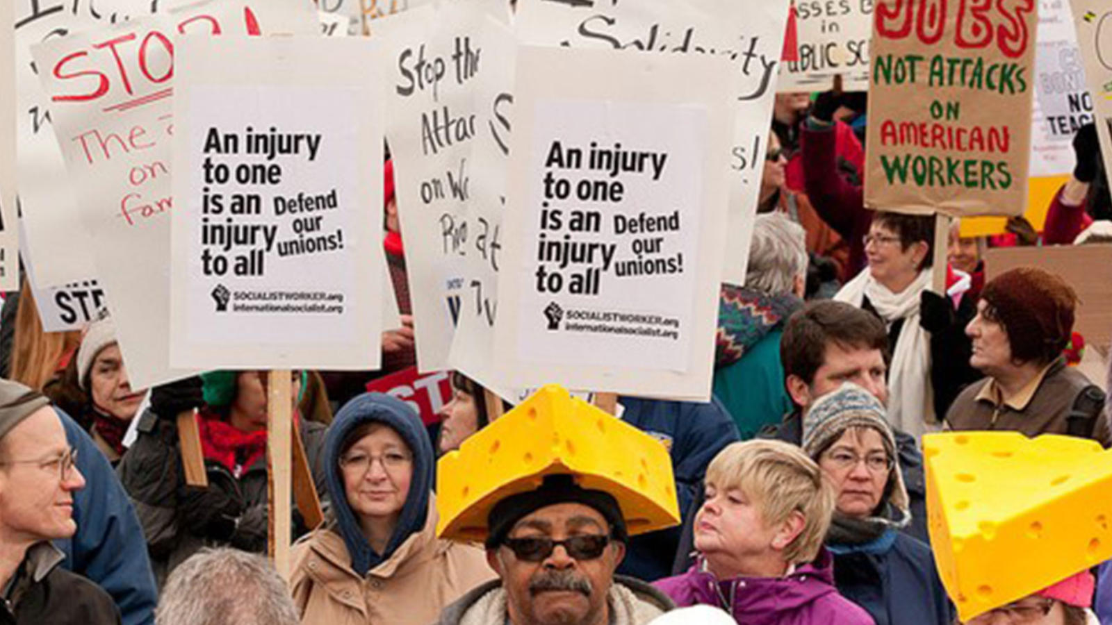 Right to Work March Image: SEIU 775 Flickr