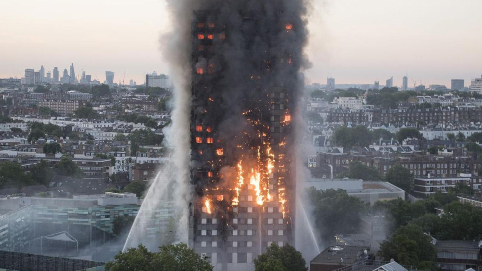 Grenfell Tower. Image: BBC