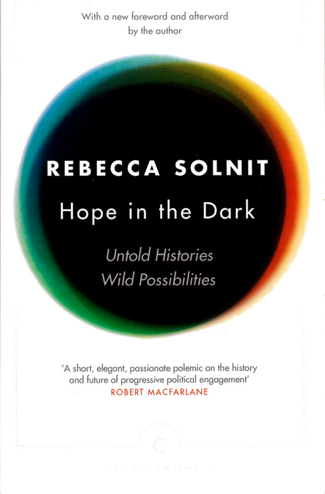 Hope in the Dark: Rebecca Solnit Image: Amazon Images