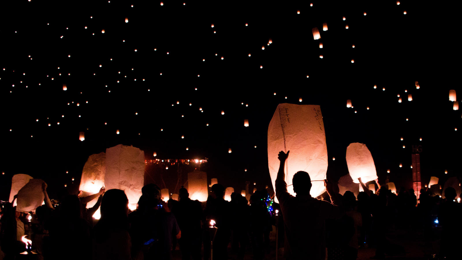 Lanterns and stars