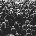 Lots of people in black and white, Image:Unsplash