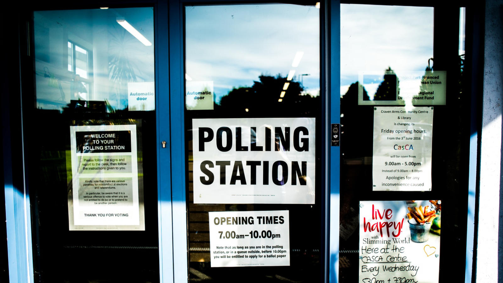 Polling Station, Image: Unsplash