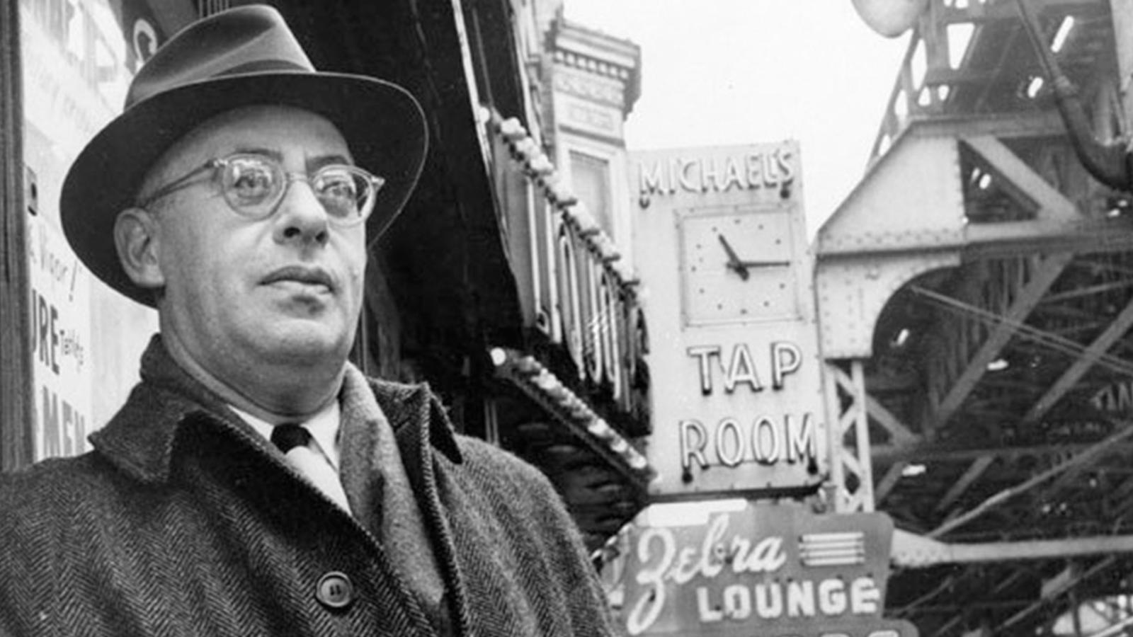 Saul Alinsky pictured on a street on Chicago south side, Feb. 16, 1966 Image: Washington Examiner