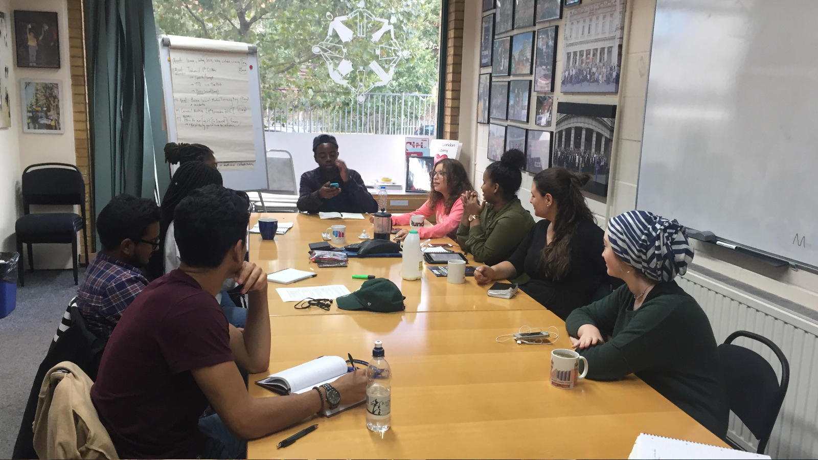 Young leaders fundraising meeting, Image: Act Build Change
