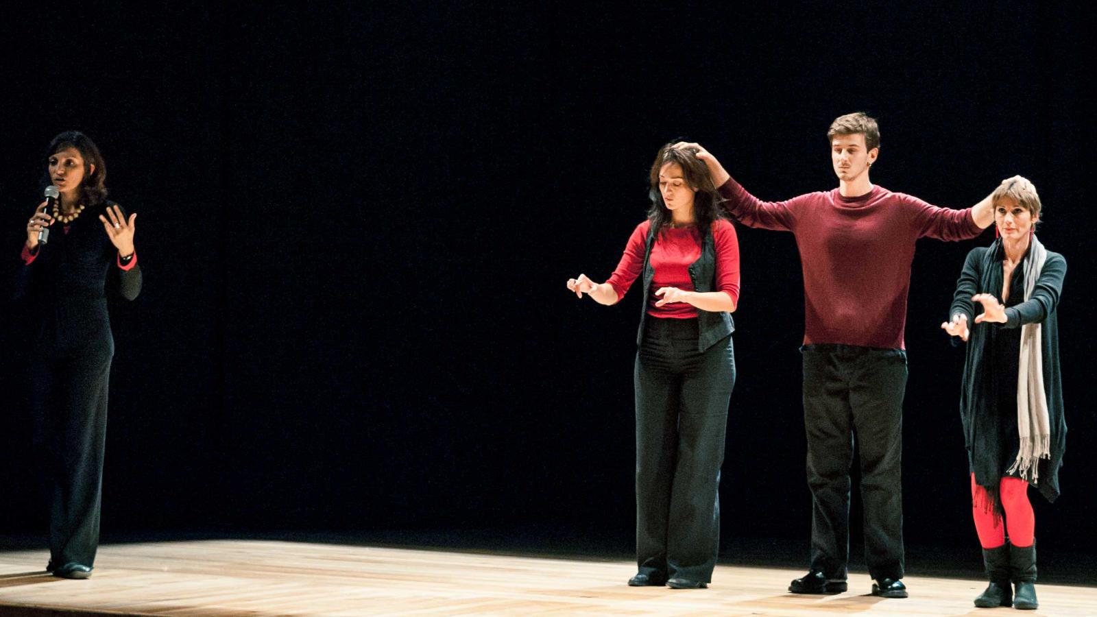 Training on Forum Theatre, Image: Parteciparte