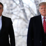 Brazilian President Jair Bolsonaro (left) and Donald Trump Image New York Post