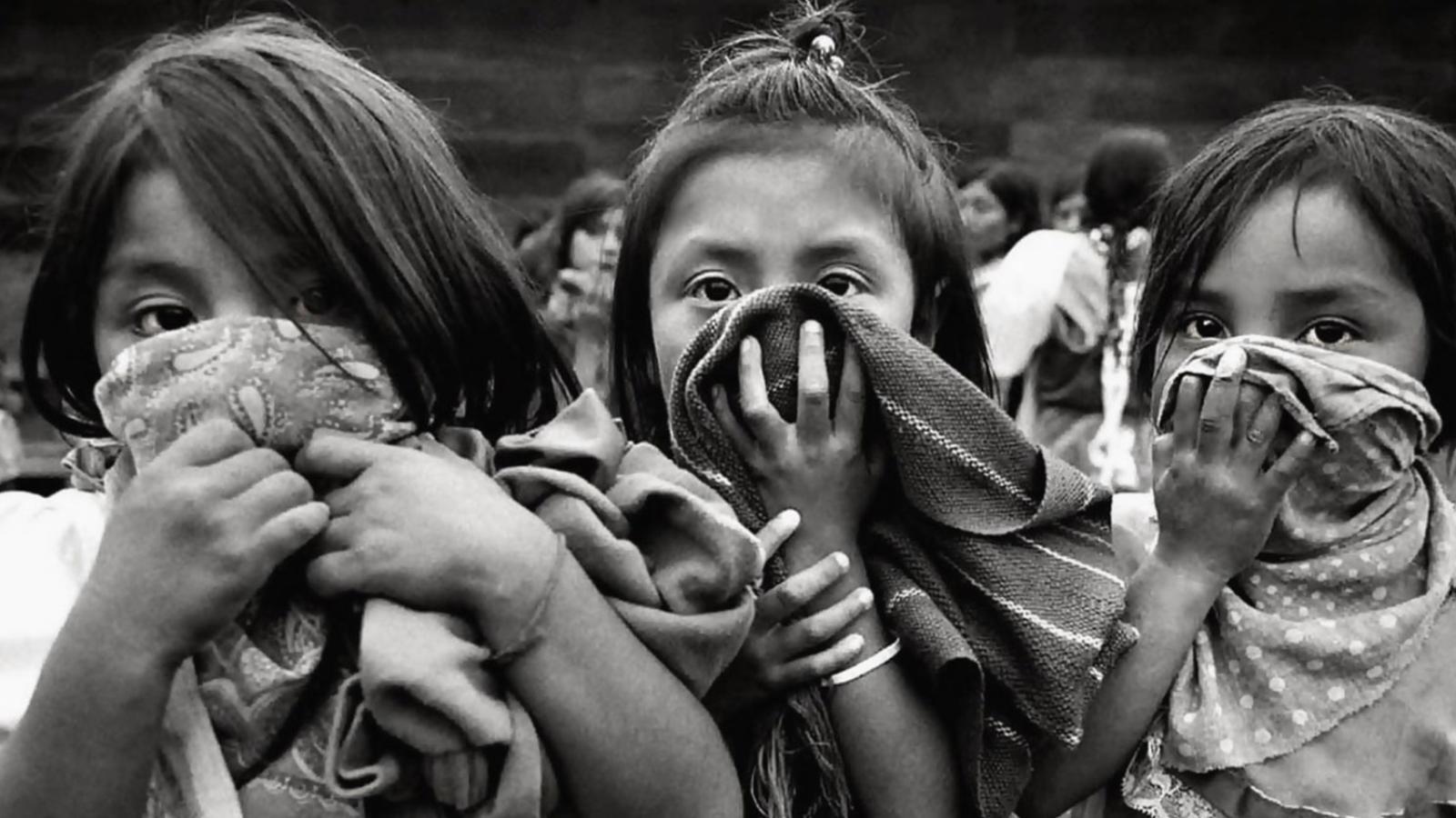 Young Zapatistas Image: Raúl Ortega